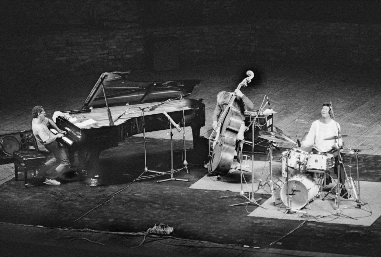 La foto di un concerto di Jarrett tratta dal libro