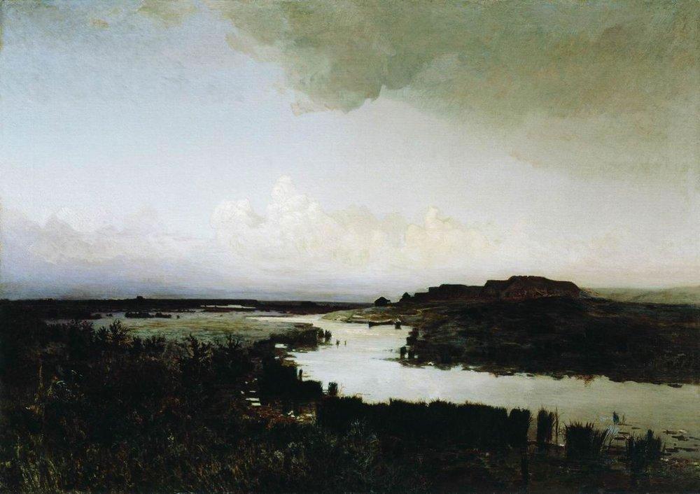 Arkhip Kuindzhi, «Steppa di sera», 1880 ca.