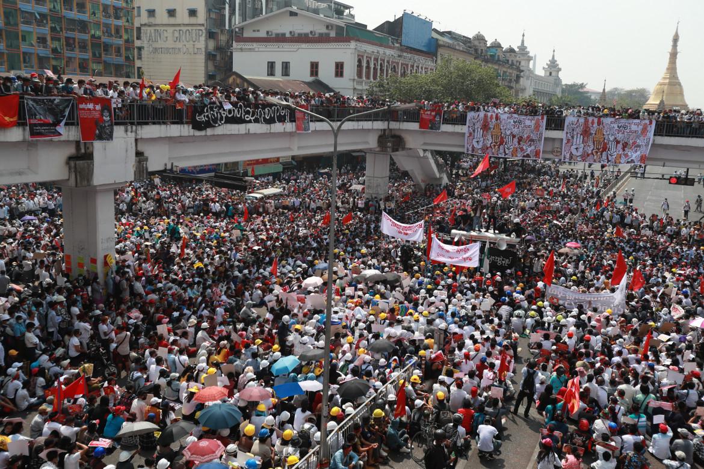 Le proteste in Myanmar