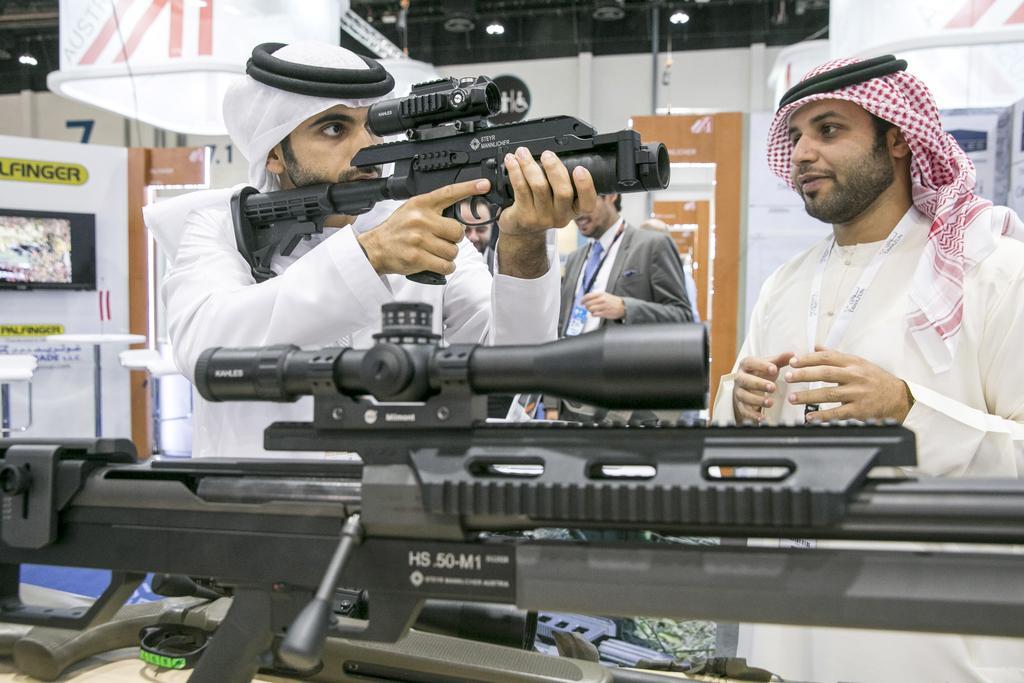 Alla fiera internazionale Idex di Abu Dhabi