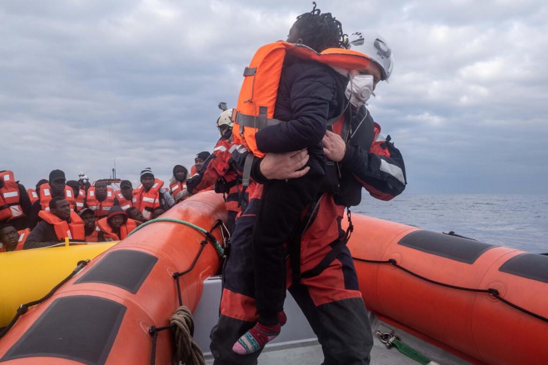 Salvataggio sulla Sea-Watch 3