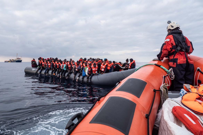 Secondo salvataggio della missione della Sea-Watch 3 nella Sar maltese