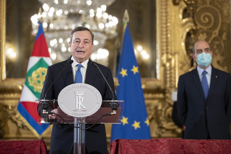 Le dichiarazioni di Mario Draghi al Quirinale