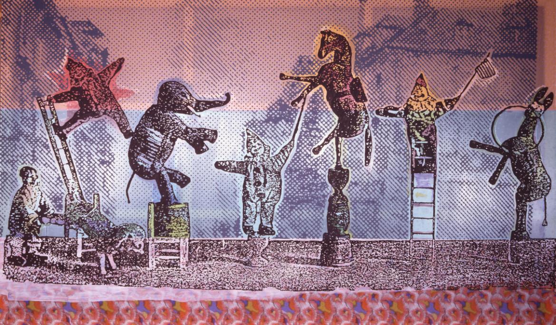 Sigmar Polke,  Circus Figures, 2005