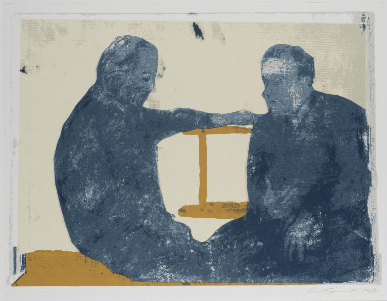 Luc Tuymans,  «La conversazione», 1995