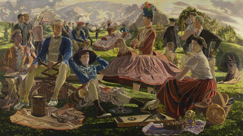 Danzas Suletinas di José Maria de Ucelay, 1956
