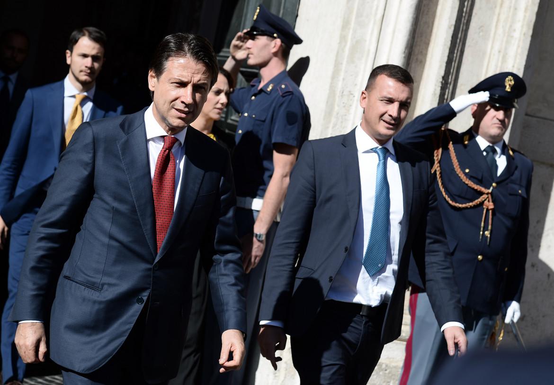 Giuseppe Conte e Rocco Casalino