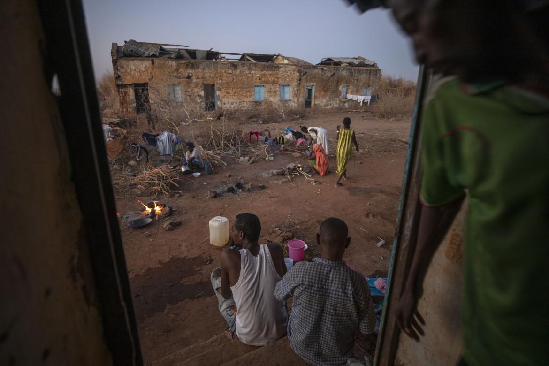 Nel campo dei profughi tigrini Village 8 in Sudan