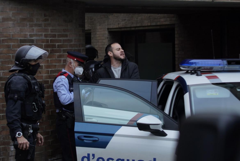 L'arresto del rapper Pablo Hasél a Lleida