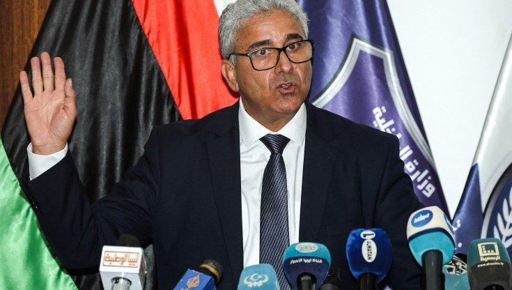 Il ministro degli interni di Tripoli Bashagha