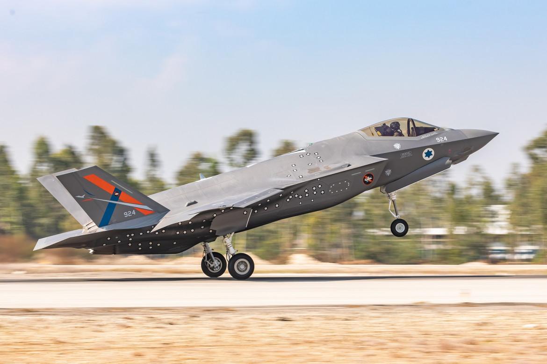 Un F35 israeliano