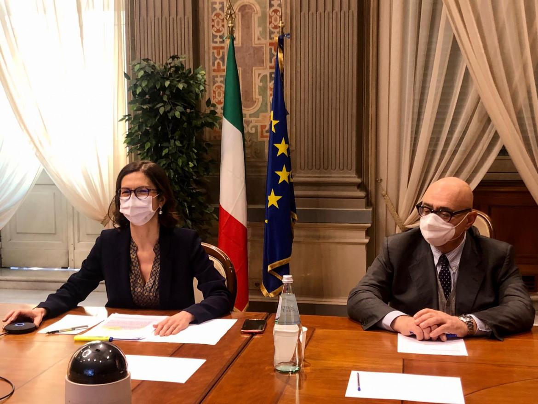 La ministra degli Affari regionali, Mariastella Gelmini