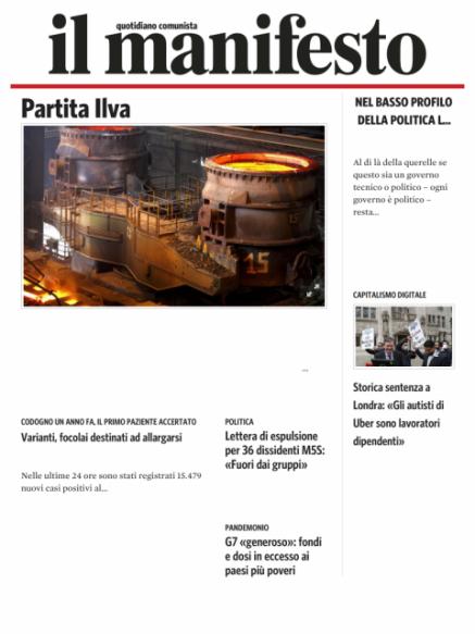 Edizione del 20022021
