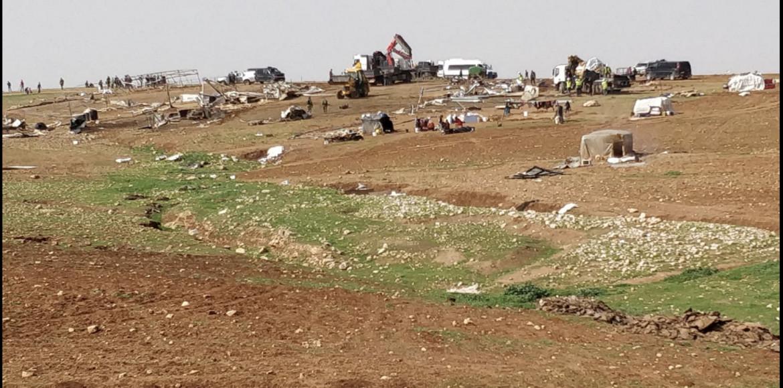 La comunità di Humsa Al Bqaia nella Valle del Giordano