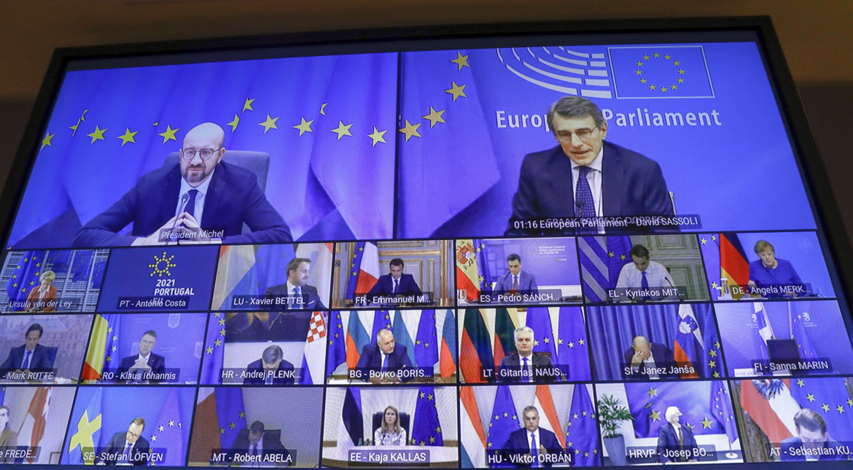 Il Consiglio europeo di ieri in videoconferenza
