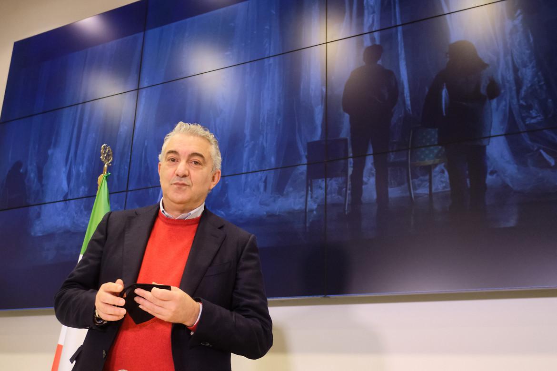 Il commissario straordinario all'emergenza Covid-19, Domenico Arcuri