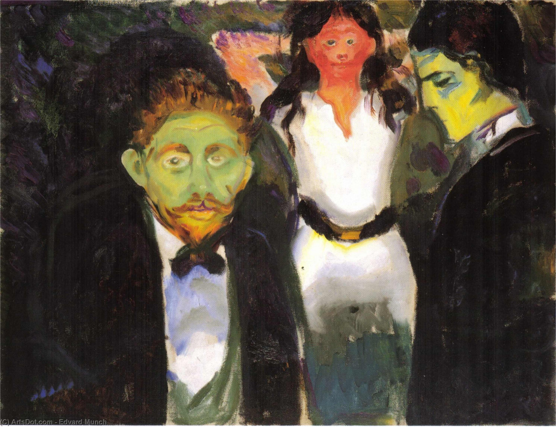 Edvard Munch, «Gelosia», 1907