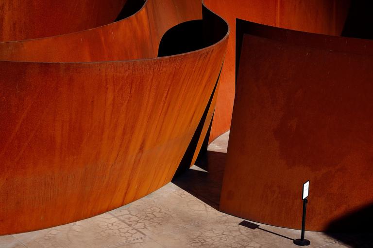 Richard Serra,  «Sequence», 2011 (particolare), foto Saul Rosenfield