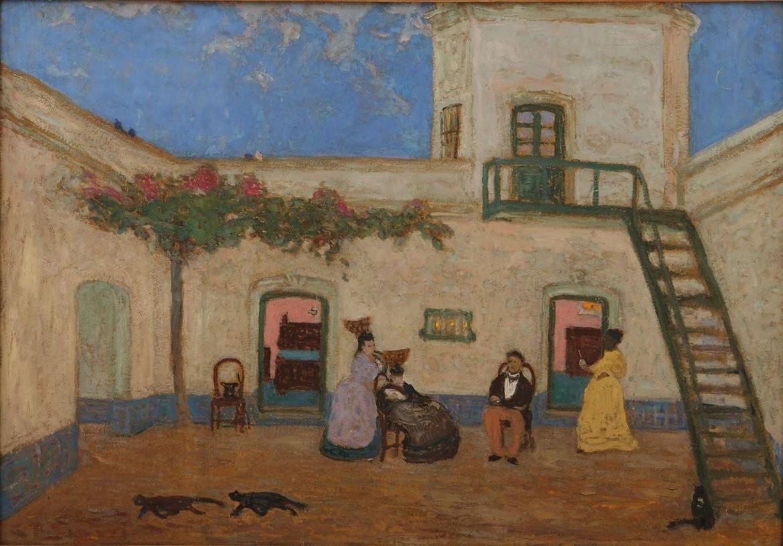 Pedro Figari, «Il patio», 1935