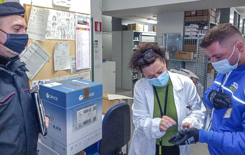 Consegna vaccini Moderna