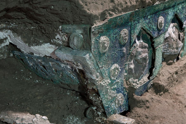 Il carro ritrovato a Pompei