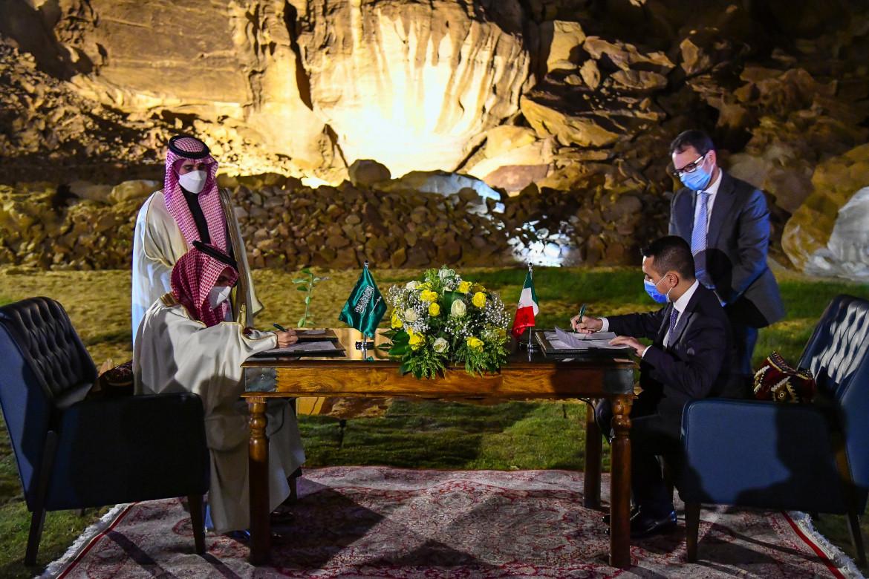La visita di Di Maio in Arabia Saudita, foto Ministero degli Esteri