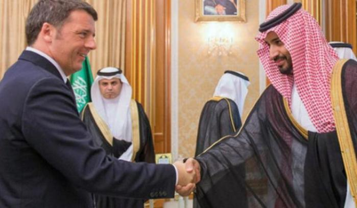 Renzi e il principe Salman