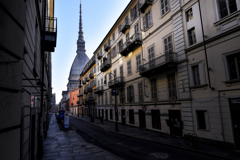 Torino in quarantena