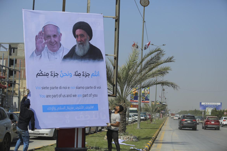 Najaf si prepara all'incontro tra papa Bergoglio e l'ayatollah al-Sistani