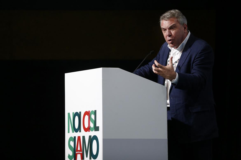 Il neo segretario generale della Cisl Luigi Sbarra