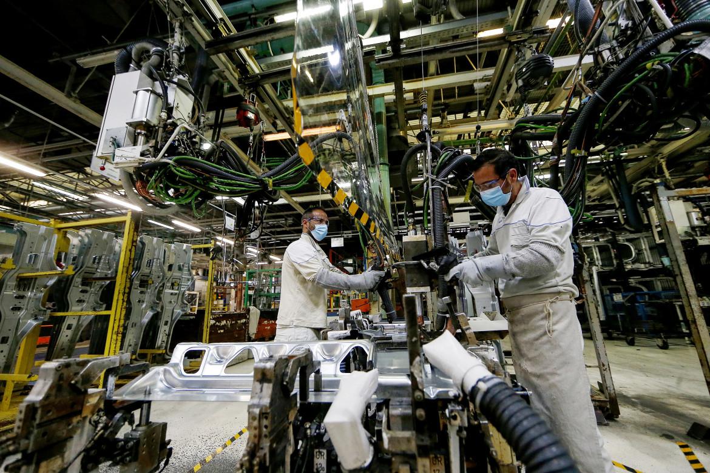 Una fabbrica Fca