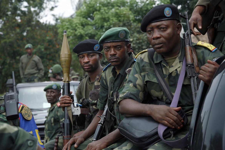 Soldati delle Fardc, l'esercito regolare congolese, nel nord-est del Paese