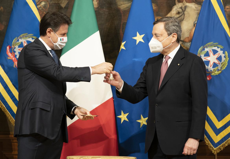 Conte e Draghi