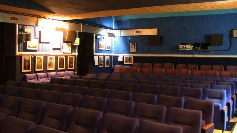 L'interno del cinema