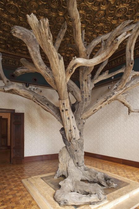 Un'installazione tratta dalla mostra «Genius Loci -Spirit of Place», curata da Greg Hilty