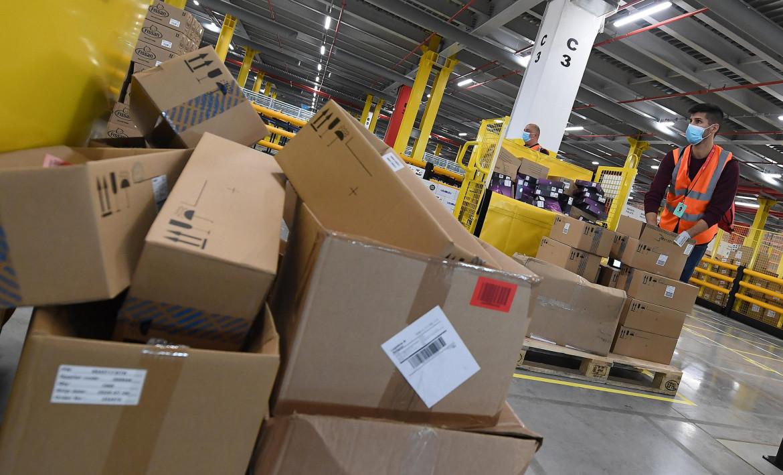Un magazzino della logistica