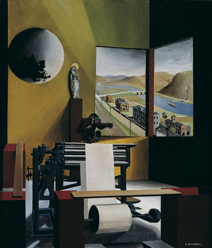 Carl Grossberg, «Sala macchine», 1925