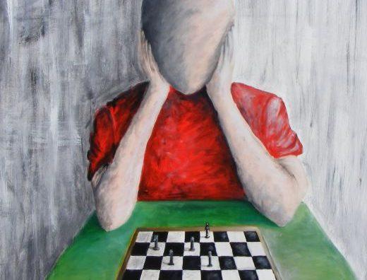 Un'opera di Pietro Paciotti, Il giocatore di scacchi