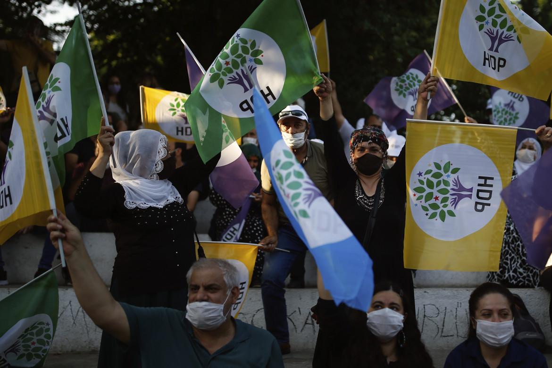 Una manifestazione dell'Hdp in Turchia