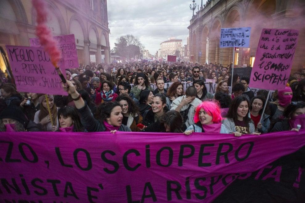 Sciopero femminista, Bologna, 8 marzo 2019