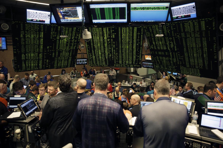 Il Chicago Board Options Exchange in un'immagine pre covid