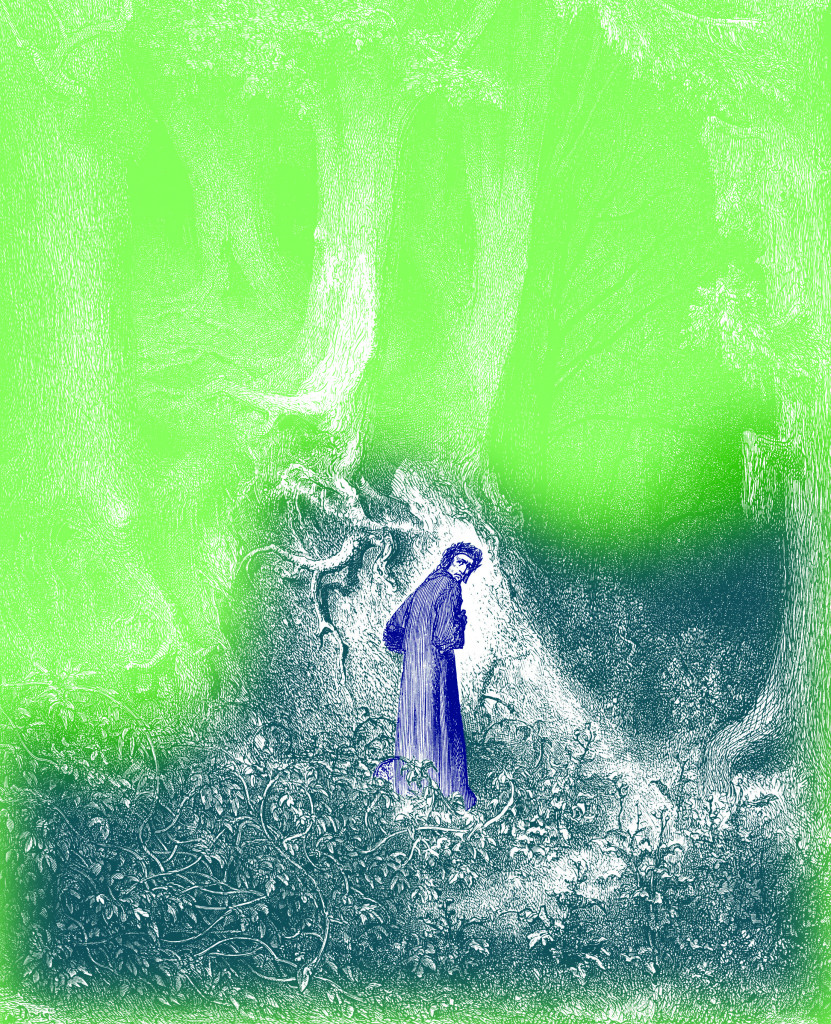 Una rielaborazione da un'incisione di Gustavo Doré