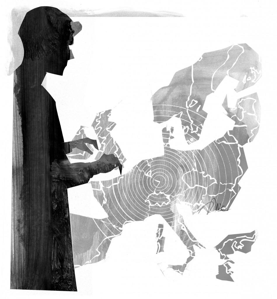 Europa. Illustrazione.