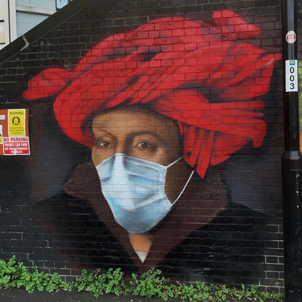 Murale di Lionel Stanhope