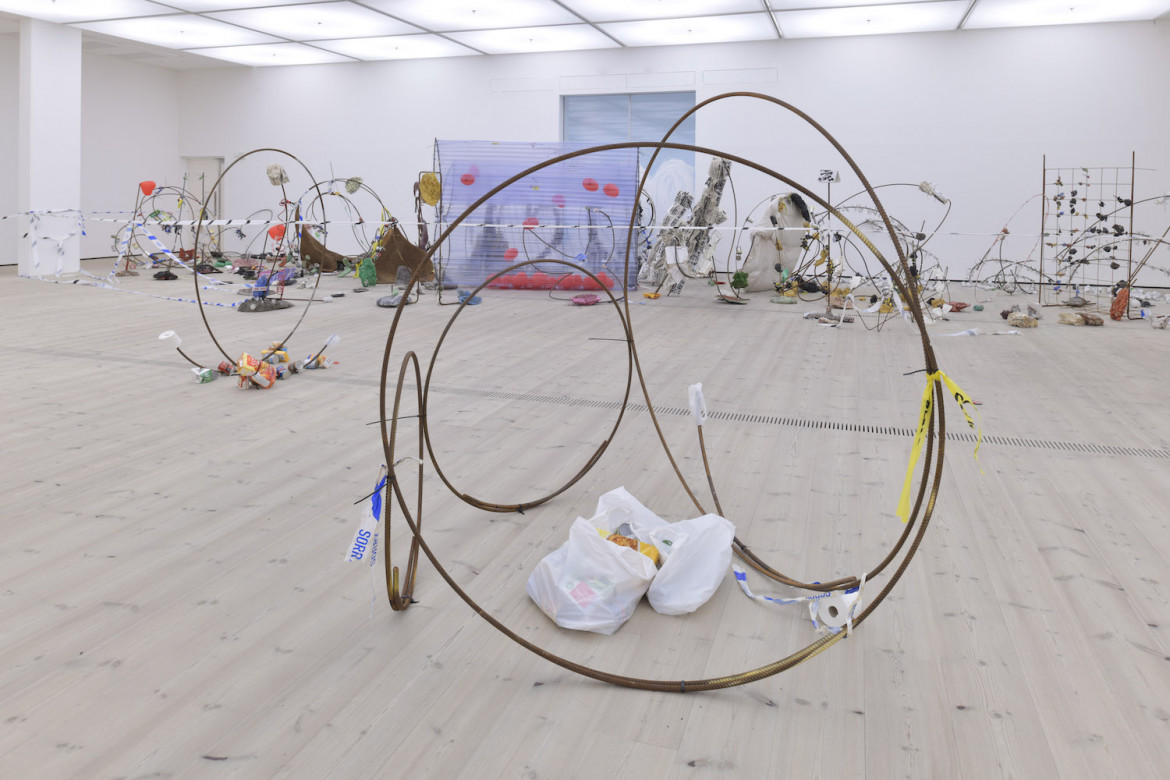 «Having you on» di Michael Dean, Baltic Centre for Contemporary Art, Gateshead