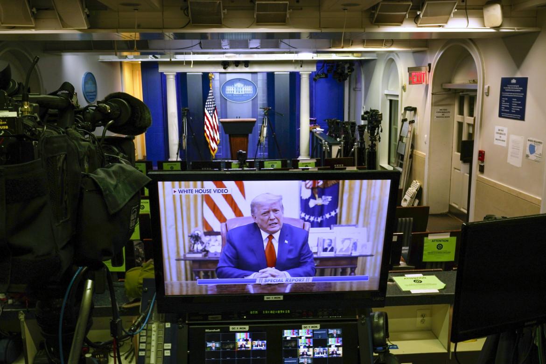 Donald Trump sugli schermi di Fox News