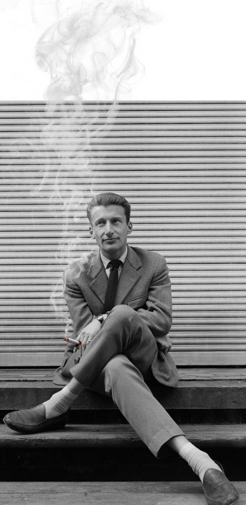 Harry Mulisch, foto di Peter Lipton