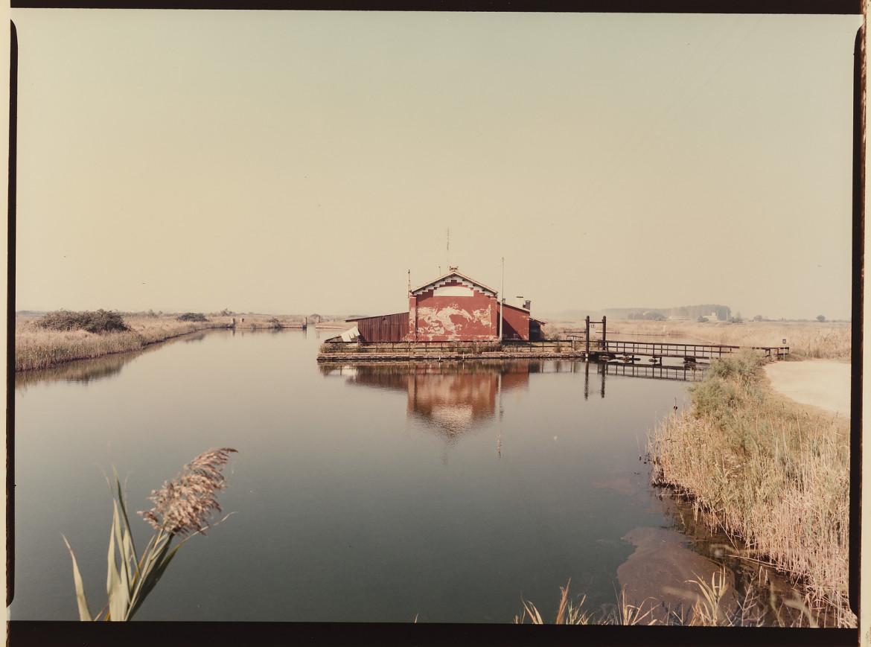 Luigi Ghirri, Delta del Po, dalla serie «Strada provinciale delle anime», 1989