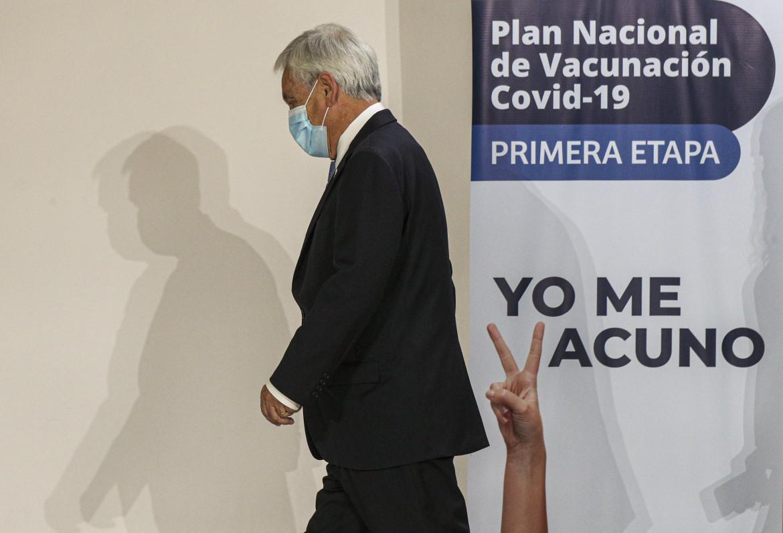 Il presidente cileno Sebastián Piñera