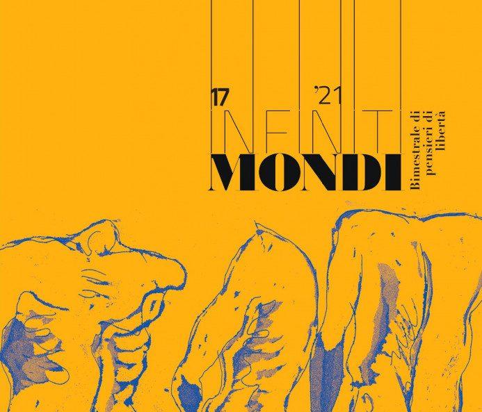 Copertina del prossimo numero della rivista Infinitimondi (tagliata)